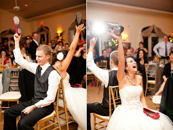 Funny Wedding Reception Games for the Bride and Groom The